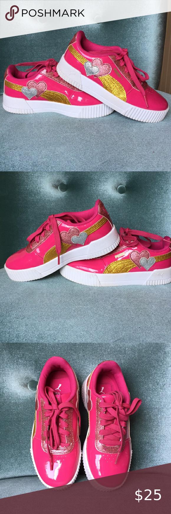 Pink puma sneakers, Sneakers, Pink pumas