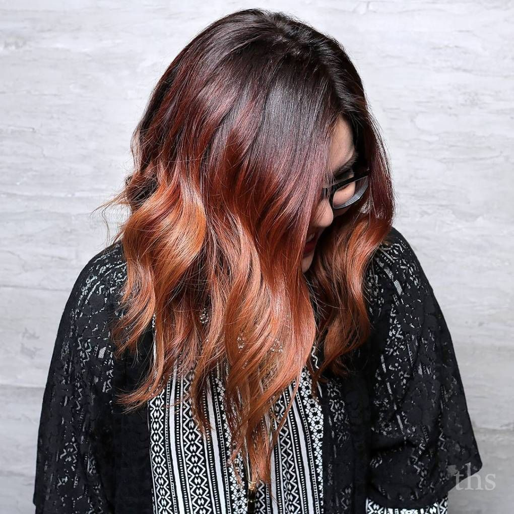 Auburn Hair Colors to Emphasize Your Individuality Balayage