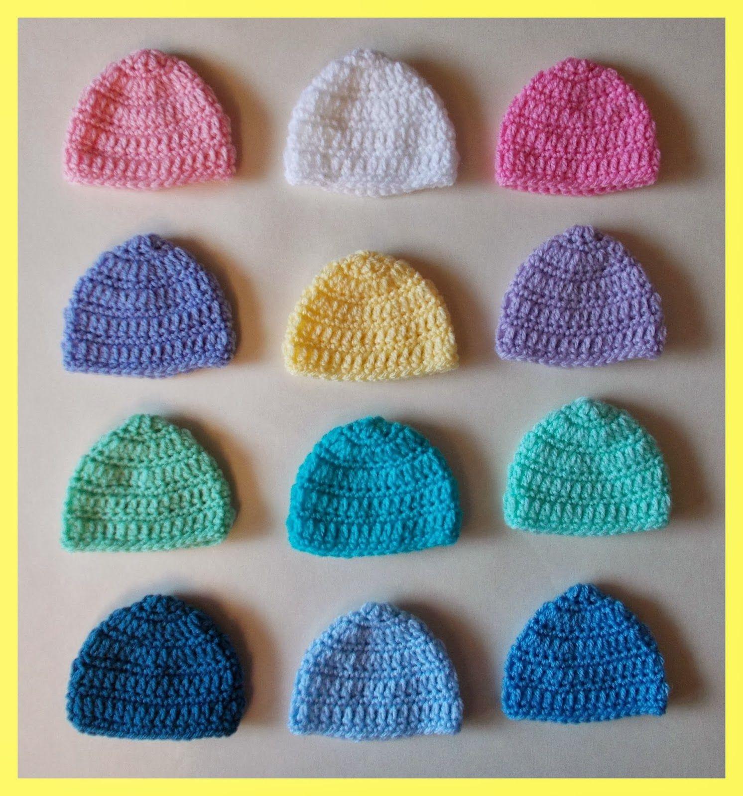 30e4866d1e62d marianna's lazy daisy days: Premature Baby Beanie Hats Donation ...