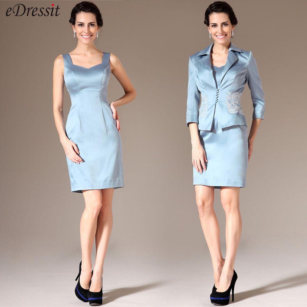 eDressit kurzes blaues Kleid für Mutter | welches Kleid passt ...