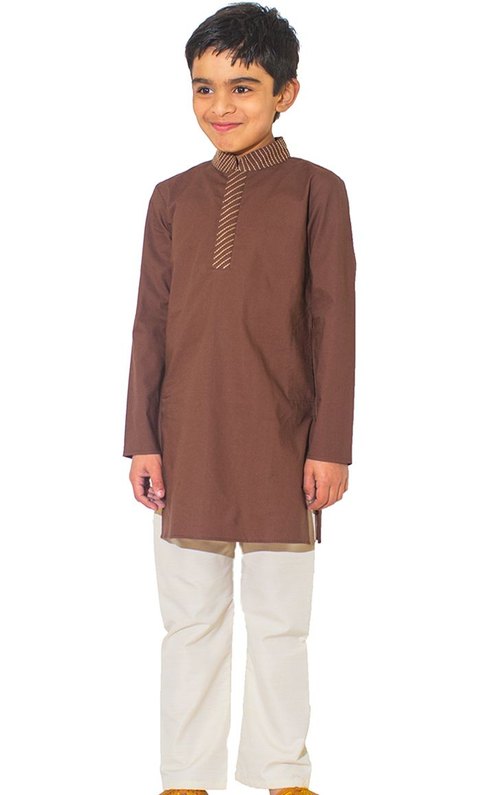 e394246f Modest Islamic Clothing Online by EastEssence for Muslim Women, Men. This  boy's kurta tunic is simple and sophisticated! Pants included, side utility…