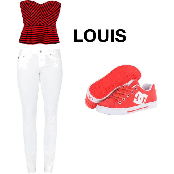 """""""His Favorite Outfit On You-Louis"""" by shelbspayne on Polyvore"""