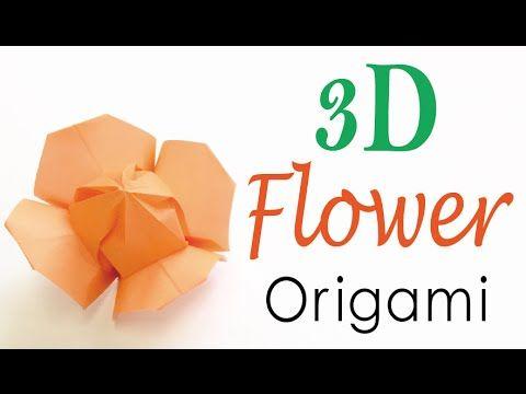 3d origami paper flower tutorial origami kawaii094 paper 3d origami paper flower tutorial origami kawaii094 mightylinksfo