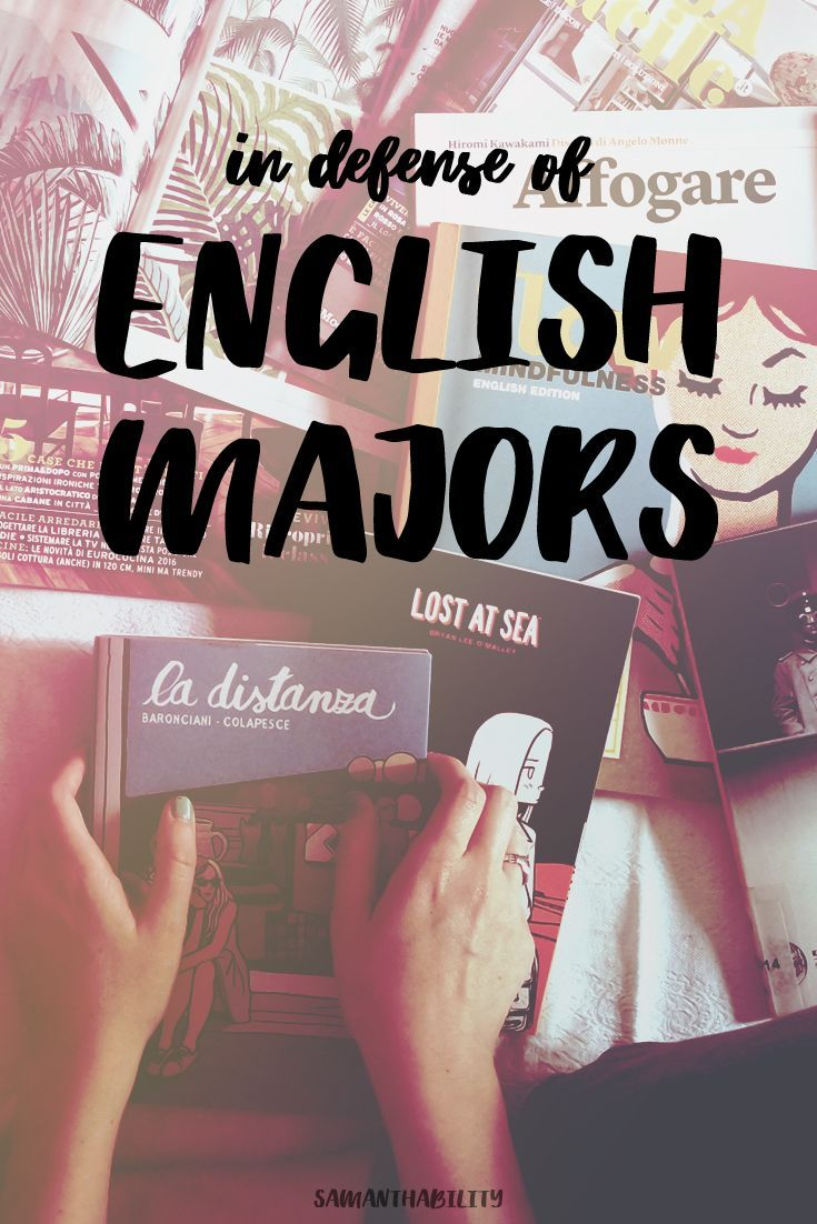 English can be really valuable! If you're thinking about majoring in English in college, read this!