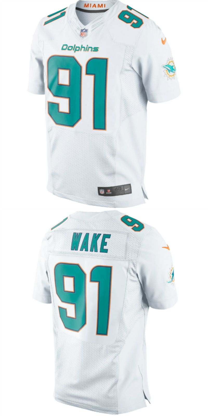 sale retailer 7496c d202d UP TO 70% OFF. Cameron Wake Miami Dolphins Nike Elite Jersey ...