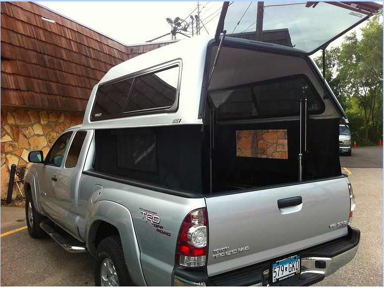 Ez Topper Lift W Curtains Me Want Truck Camping Ideas