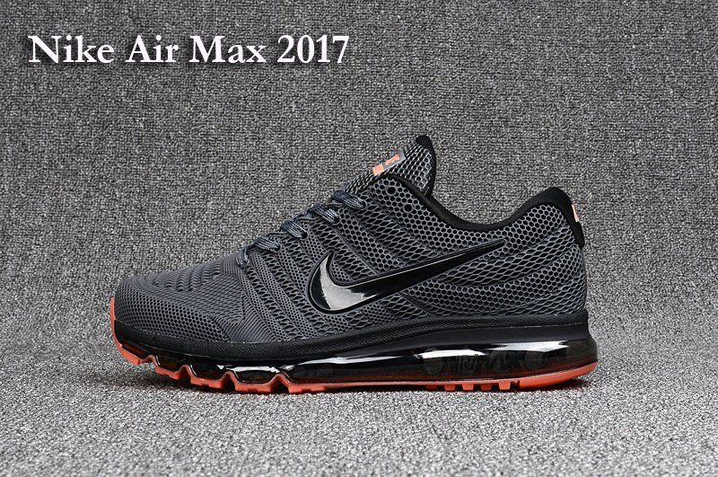 Nike Air Max 2017 Men's not 2016 Sneakers Running Trainers Shoes dark grey