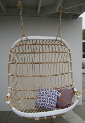 Enjoyable Serena Lily Double Hanging Rattan Chair Hanging Chair Alphanode Cool Chair Designs And Ideas Alphanodeonline