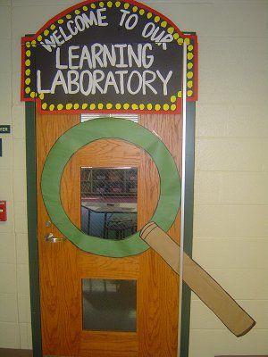 classroom door | STEM | Pinterest | Classroom door, Doors ...