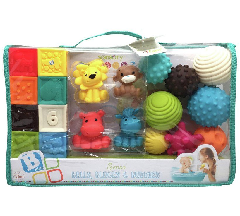 Buddies Activity Toy Set Blocks Infantino Balls