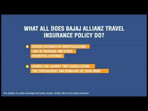 Travel Insurance Online Bajaj Allianz Video Travel ...