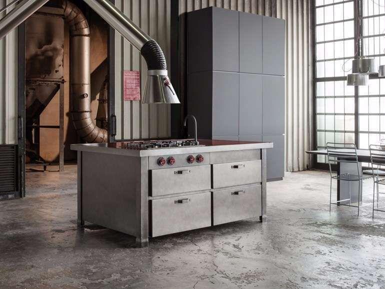 Cucine In Acciaio Componibili.Cucine Componibili In Acciaio 2017 Kitchen Nel 2019