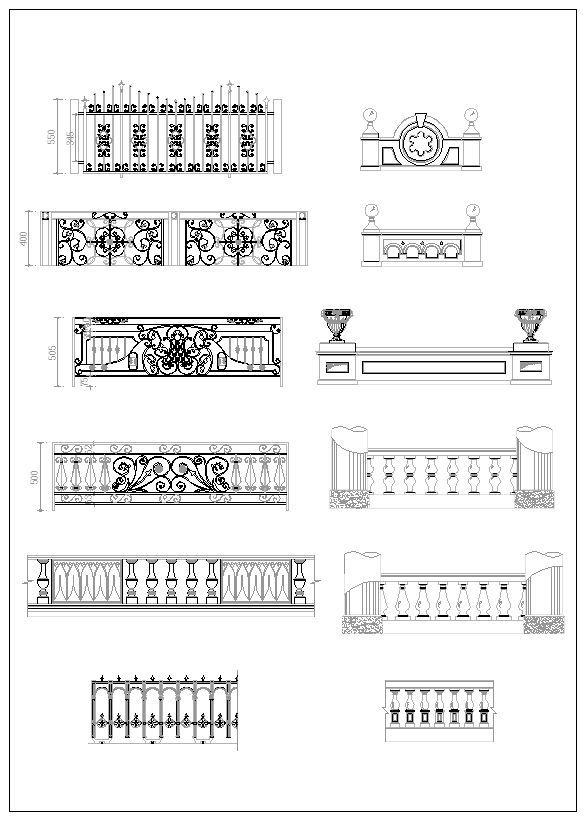 Architecture Ornamental Parts Decorative Inserts Accessories