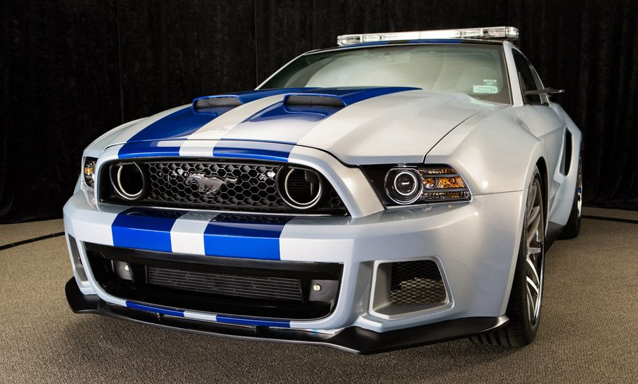 Ford Mustang Pace Car in Need for Speed #fordmustang #needforspeed #need4speed