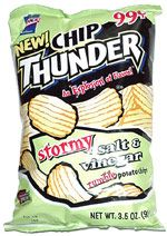 Chip Thunder Stormy Salt Vinegar Rumble Potato Chips Food Chips Potato Chips
