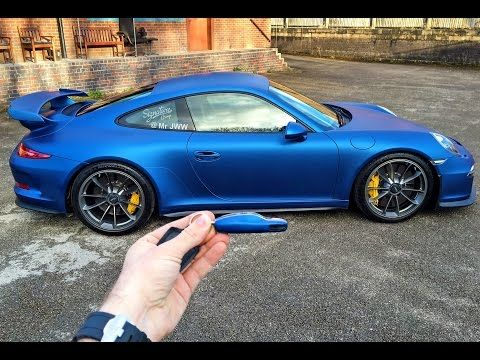 Wrapping My Porsche 991 Gt3 Blue By Signature Group Super Cars Porsche Classic Porsche
