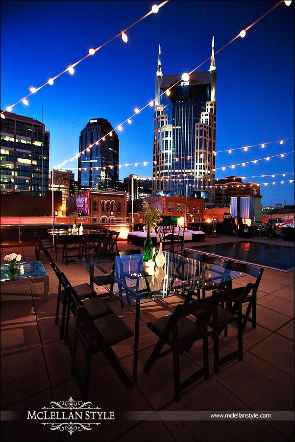 Nashville Tn Event Photography Corporate Conventions: Private Event Space, Rooftop Venue, Nashville