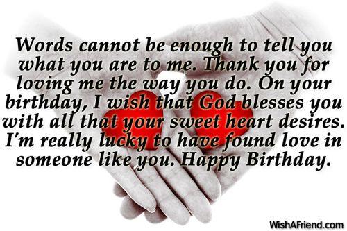 Birthday Wishes For Boyfriend Love Pinterest – Birthday Greeting for Boyfriend