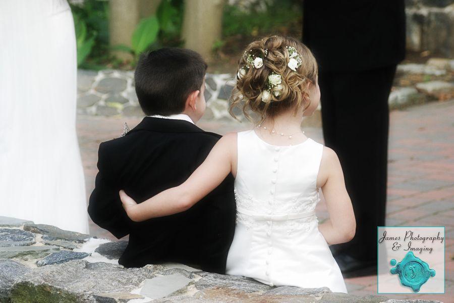 Ring Bearer And Flower Girl New Jersey Wedding James