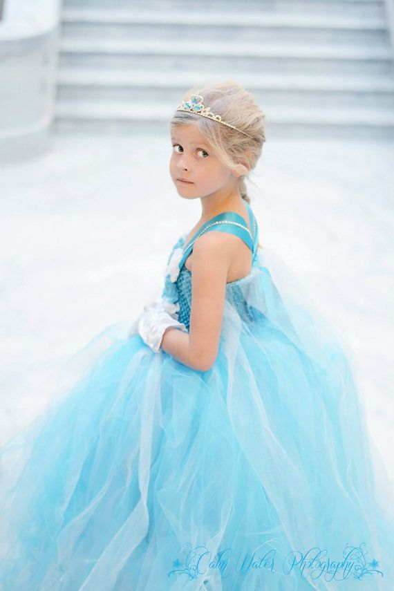Elsa dress with cape /queen elsa dress / by Divastutusboutique