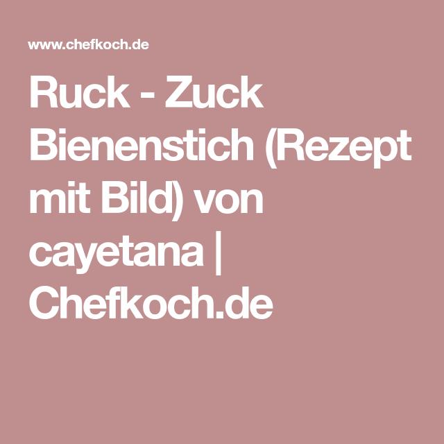 Ruck - Zuck Bienenstich (Rezept mit Bild) von cayetana | Chefkoch.de