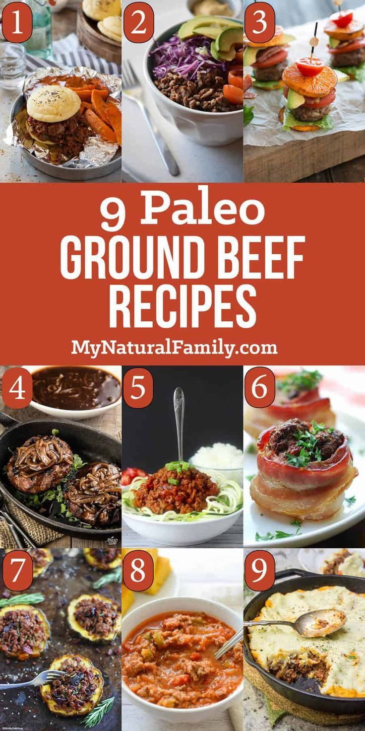 9 Paleo Ground Beef Recipes for Inexpensive Meals images