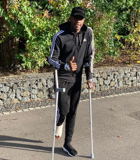 Danny Welbeck who is on clutches after undergoing two surgeries on his broken ankle has promised to return stronger.    Danny Welbeck    Arsenal forward Danny Welbeck has spoken for the first time since his career threatening injury during their Europa League clash with SportingLisbon.    The England international promised to return stronger than ever before and thanked Arsenal fans for their support.    The player said this after undergoing two surgeries on his broken ankle.    The 27-year-old forward landed awkwardly in the 30th minute in the draw with Sporting Lisbon and required oxygen before being stretchered off the field at the Emirates.    Arsenal had earlier confirmed that both of Welbecks procedures went well on Monday night.    Back home Thanks for all the love and support he told his followers on Twitter.    No doubt I will be back stronger than ever before. Recovery grind starts now.