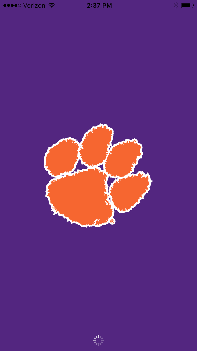 The Paw Says It All Clemson Tigers Football Clemson Paw Clemson Tigers
