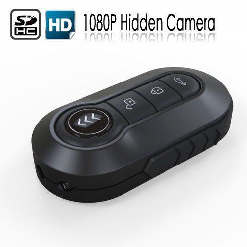 #Gorgeous Full HD 1080P IR Car Key Video Camera / High Definition Reslution Cam CCTV Nanny Spycam