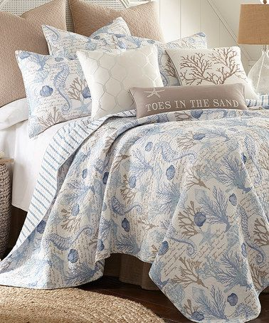 Love This Blue Galapagos Quilt Set On Zulily