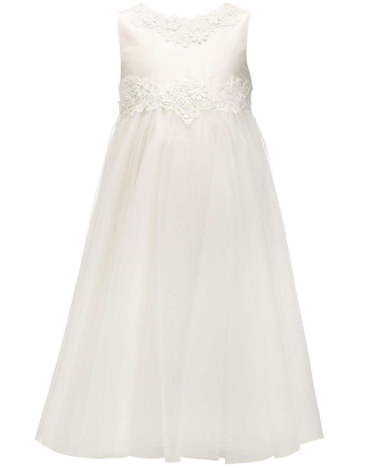 Anastasia silk dupion dress white monsoon flower girl dress