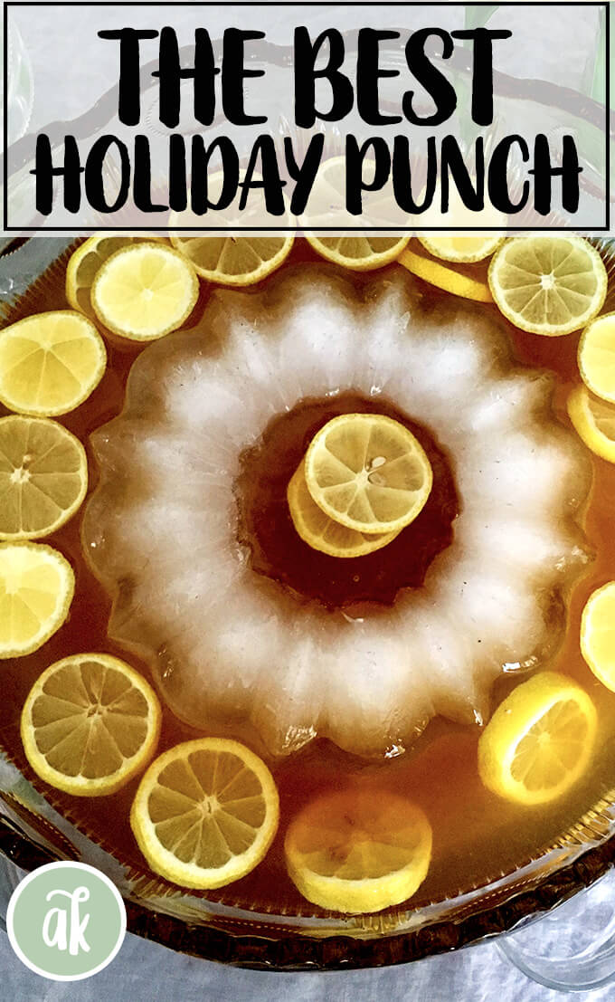 Philadelphia Fish House Punch has become a staple on the Thanksgiving menu. To me, it is the most f
