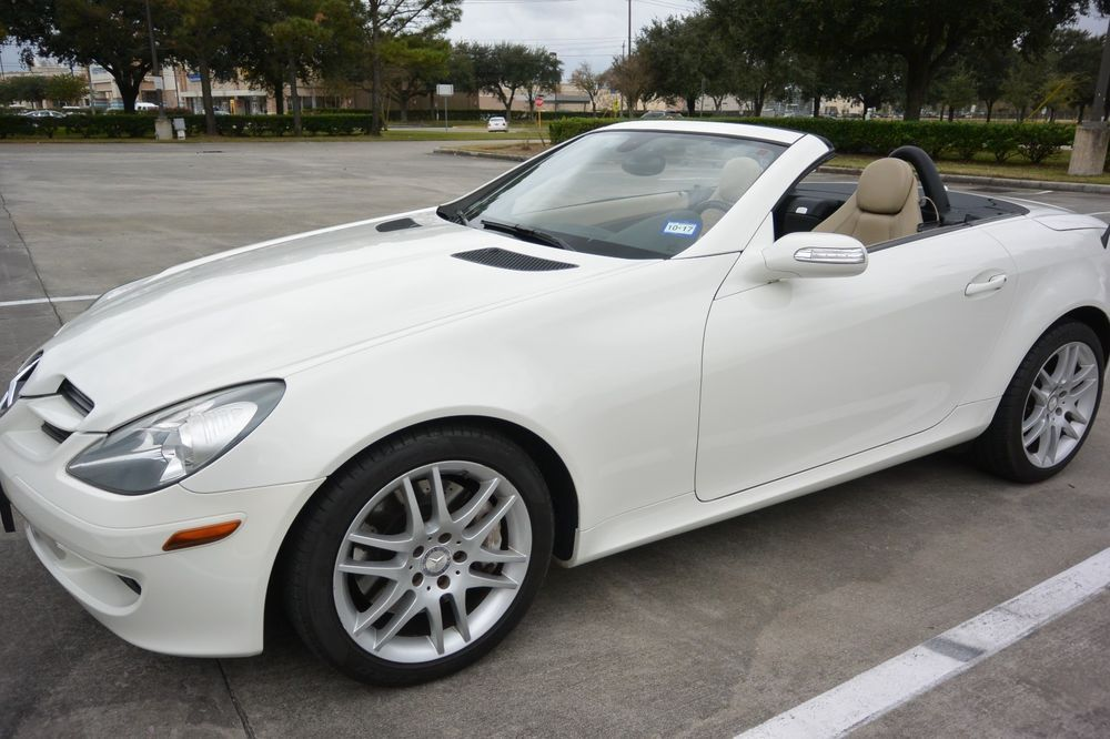 2008 Mercedes Benz Slk Class Roadster 2008 Mercedes Slk 350