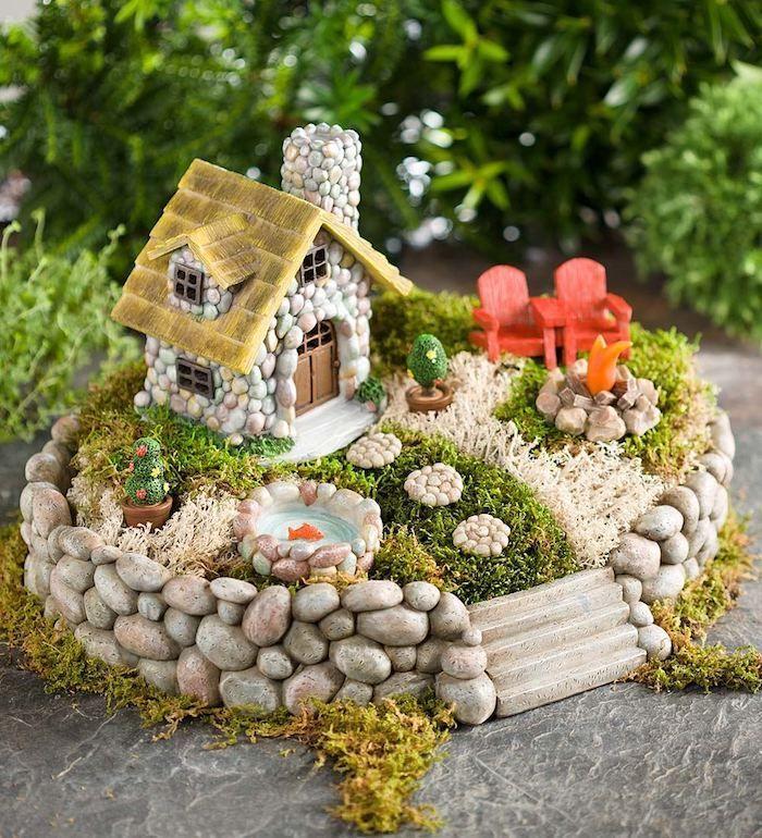 Photo of ▷ 1001 + Ideen für niedliche und wunderliche feenhafte Garten-Ideen-   Ein pa…