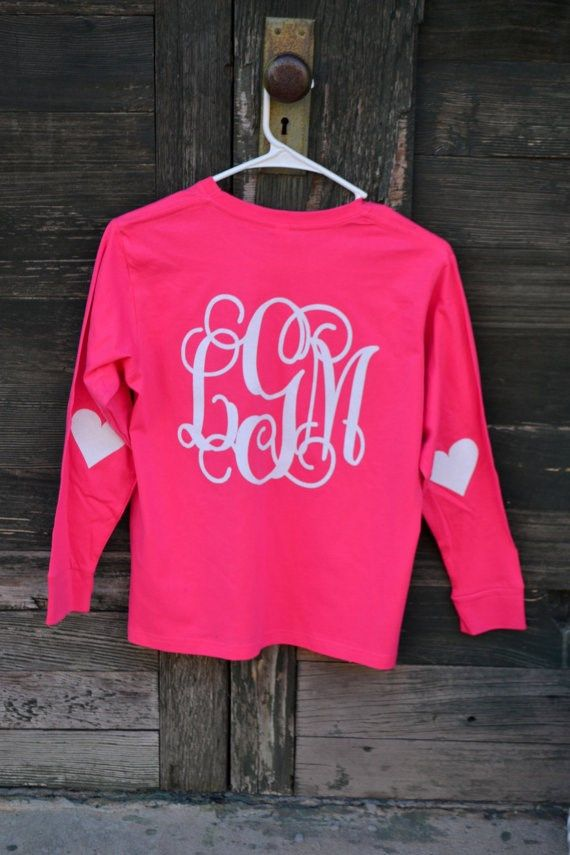Monogram Valentine Shirt With Elbow Patches Monograms Patches And