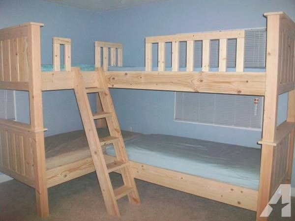Quadruple Twin Over Full Bunk Beds Lakehouse Bunk Beds Triple