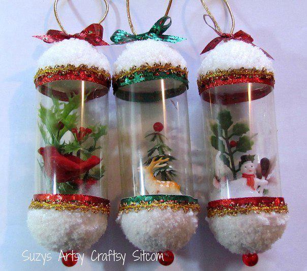 adornos de navidad con botellas de plastico buscar con