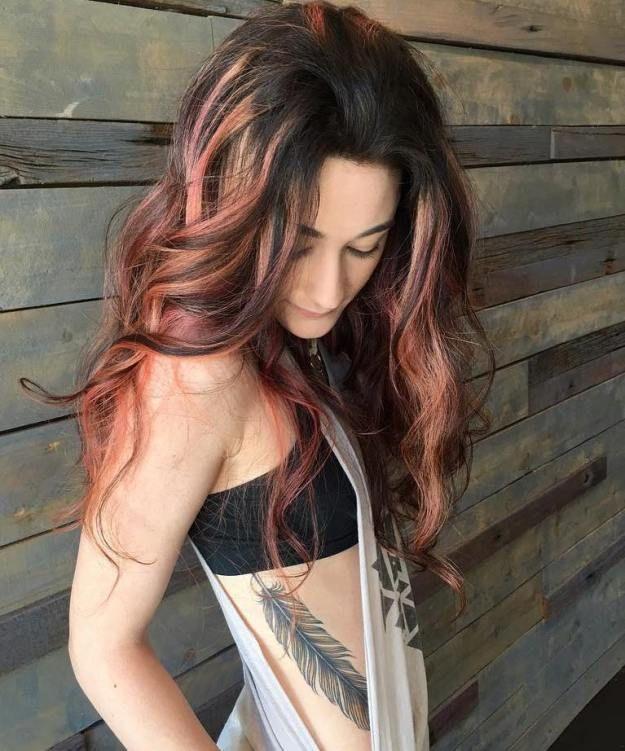 60 Hairstyles Featuring Dark Brown Hair With Highlights Dark Brown