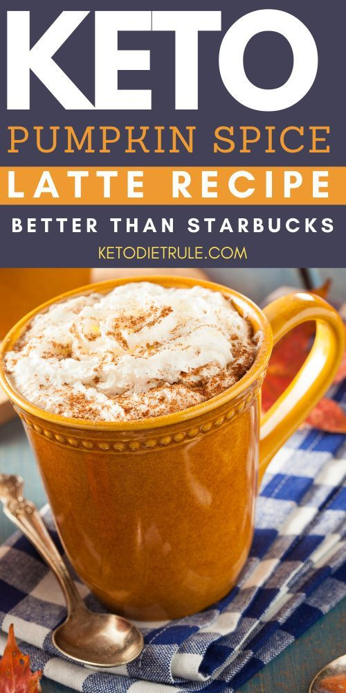 Keto Pumpkin Spice Latte Starbucks Copycat