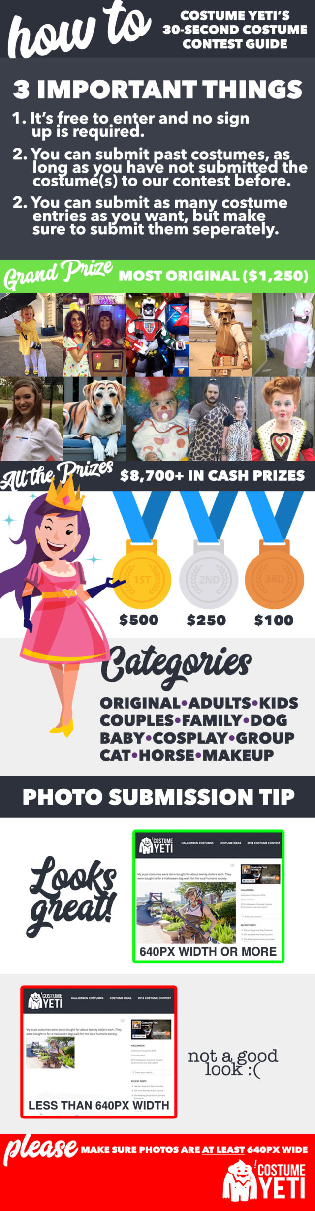 2017 halloween costume contest ($4,450+ in cash and prizes