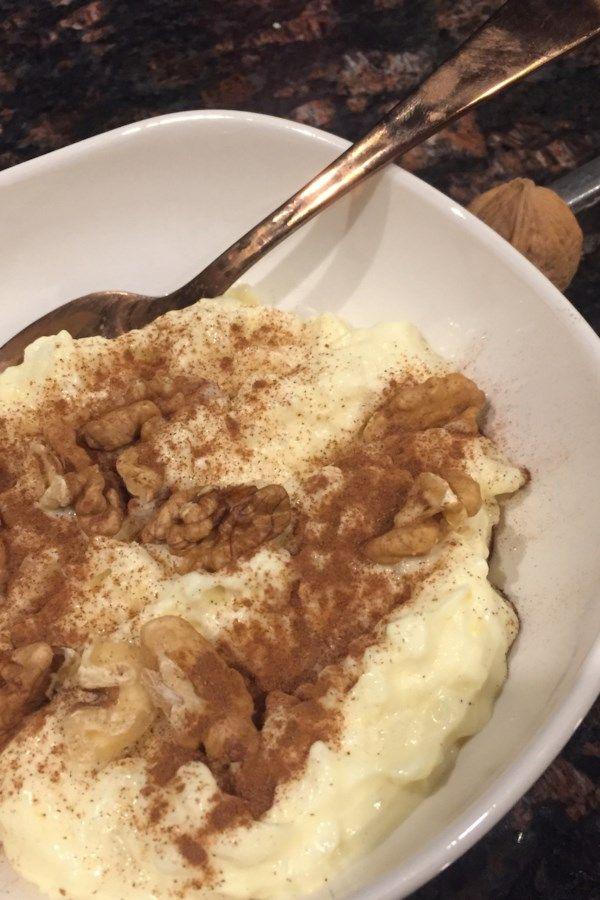 Authentic Italian Rice Pudding   Recipe in 2020 ...
