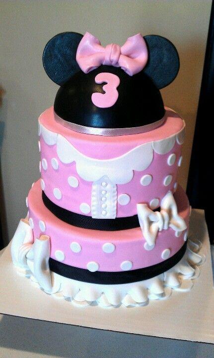 Minnie Mouse Cake Original design- Veronica M Cakes