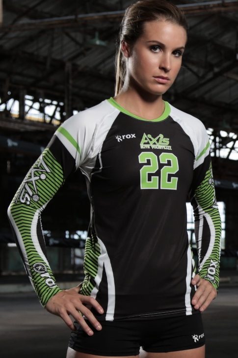 Boa Sublimated Volleyball Volleyball jerseys, Women