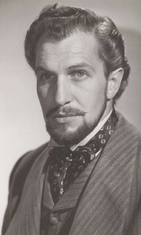 The Handsome Actor Vincent Price Vincent Price Vincent Portrait