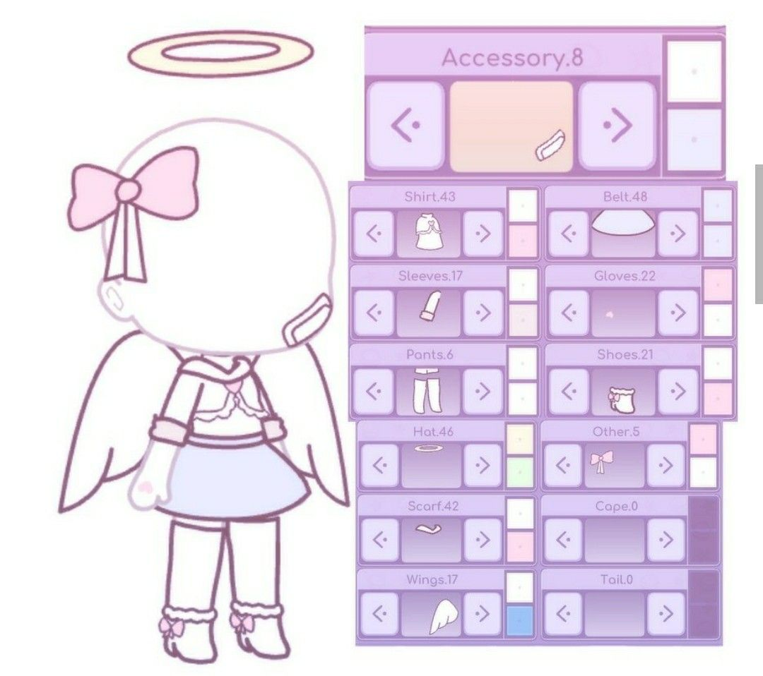 Pin By Challengewolfplayz On Gacha Life Character Outfits Game Design Anime Outfits