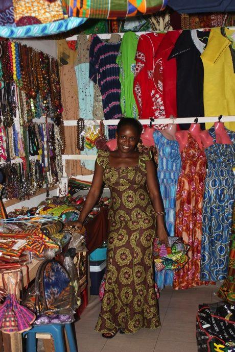 colourful Ghanaian Textiles – Accra