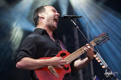 Dave Matthews - he has so much soul pouring out of him when he sings