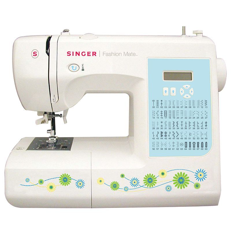 When I finally get around to getting a new sewing machine, this might be the one I get!