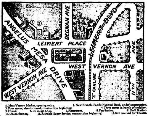 Leimert Theater Envisioning A Neighborhood Landmark Leimert Park La History The Neighbourhood