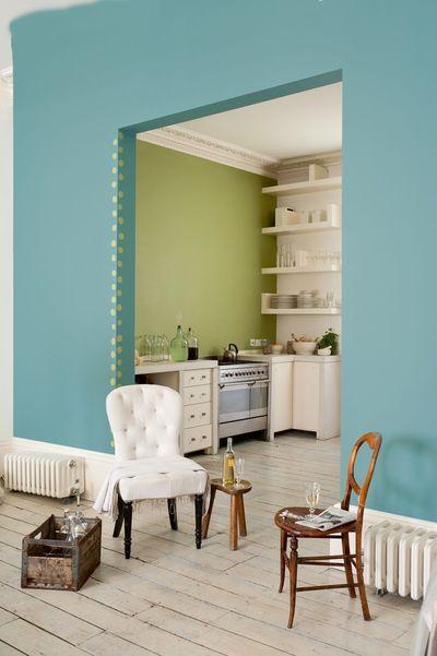 Couleur peinture cuisine  comment relooker votre cuisine Murs
